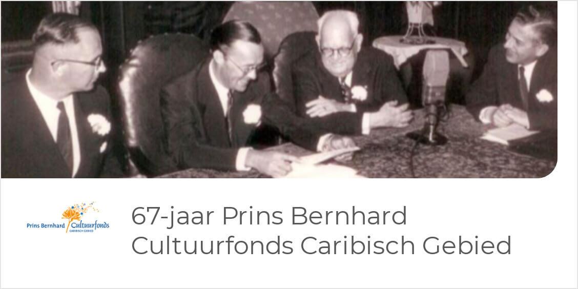67-jaar Prins Bernhard Cultuurfonds Caribisch Gebied