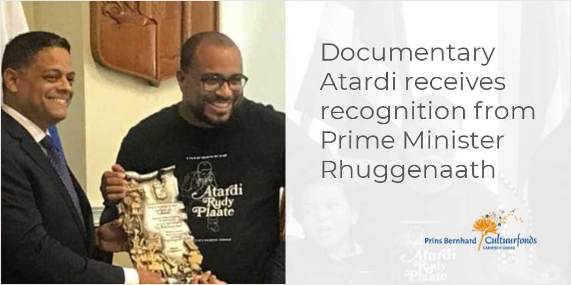 Documentary Atardi receives recognition from Prime Minister Rhuggenaath